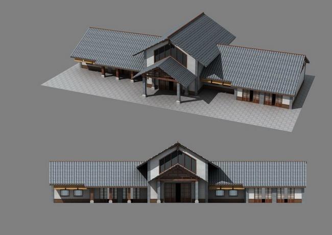 民宿建筑结构设计图片