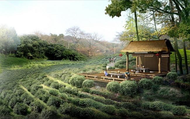 朴雅·独立庭院区    野奢·滨水原墅区    禅栖·佛教景观区图片